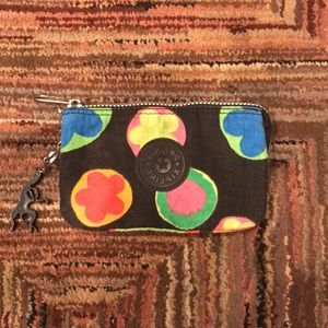 Kipling Wallet Black/Multi-Color Pouch